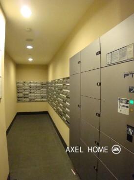 メールボックスと宅配ボックス