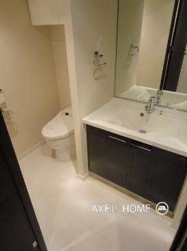 1Kタイプの洗面所・トイレ