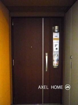 アップルタワー東京キャナルコート 玄関ドア