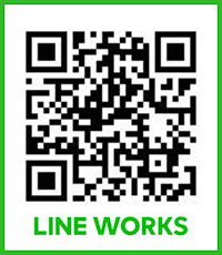 LINE WORKS QRコード(港区湾岸店)