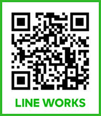 LINE WORKS QRコード(代々木店)